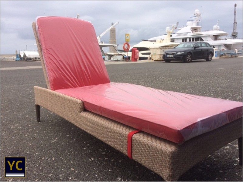 Sunbed Upholstery, Yacht Exterior Upholstery
