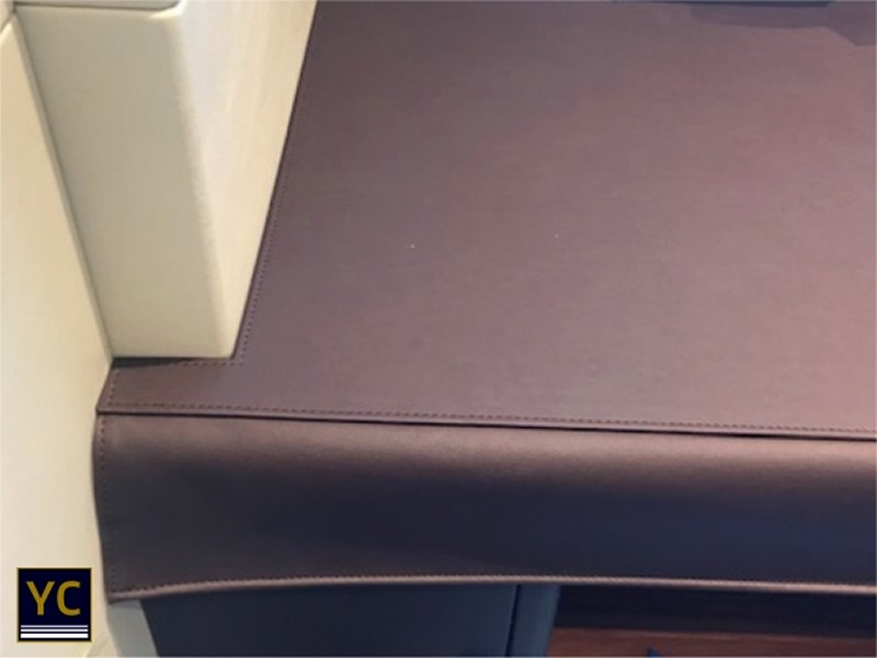 Luxury Yacht Table Cover, Yacht interior Cover, Yacht Leather covers
