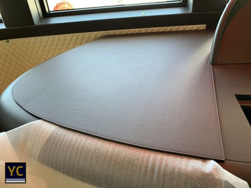 Luxury Yacht Interior Covers, yacht leather covers, yacht lather cover