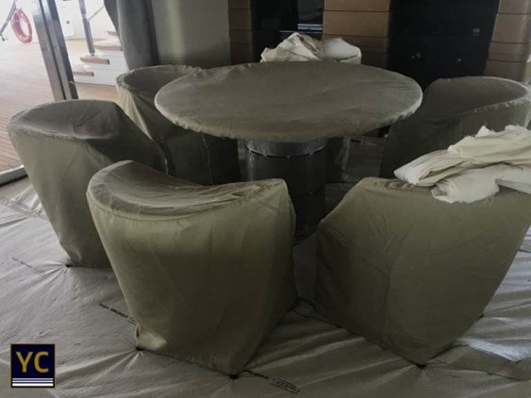 Yacht Interior Cover, yacht cover for interiors