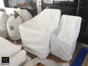 exterior covers, yacht exterior covers, yacht furniture covers, stamoid covers