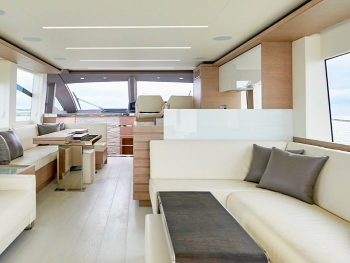 Yachts Interior Upholstery