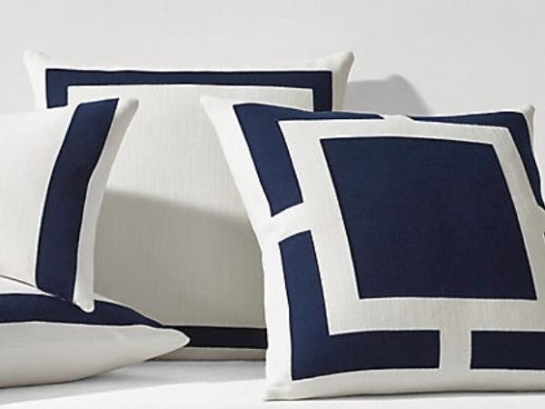 yacht throw cushions, yacht decorative cushions